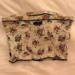 Tommy Hilfiger Tops - Floral tommy crop top. Tube top